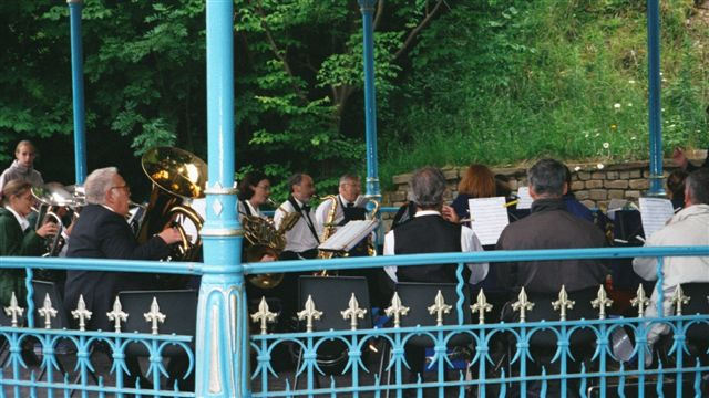 DVWB on the Bandstand