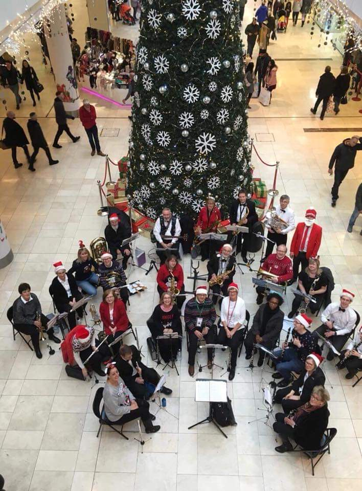 Christmas at the Intu Centre, Derby